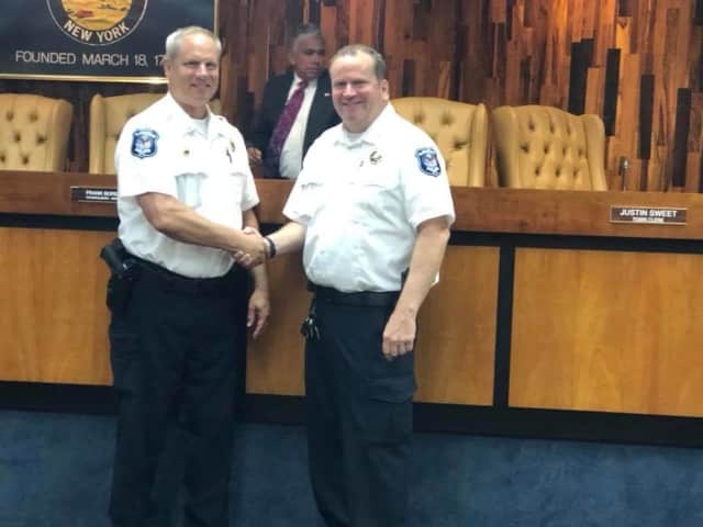 Lt. Jeff Wanamaker was recently promoted to Captain.