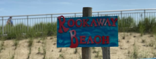 Police and first responders are searching for two missing teens at Rockaway Beach.