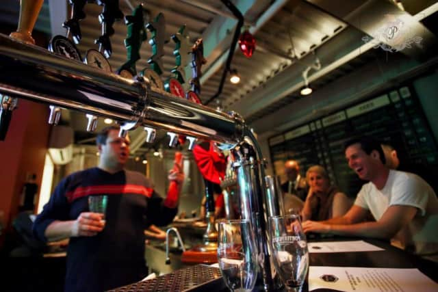 Growlers Beer Bistro in Tuckahoe is known for its array of beers.