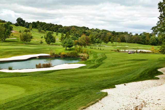 The course at New York Country Club