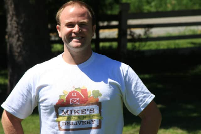 Michael Geller is he founder of Mike's Organic Delivery.