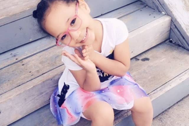 Kiara Hernandez, 4, died in a vehicle crash over the weekend that also claimed the lives of her mother and grandmother.