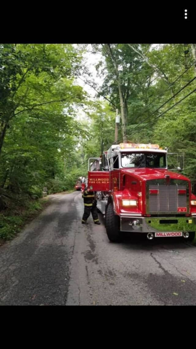 An electrical fire broke out at a Chappaqua home.