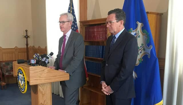 Gov. Dannel Malloy introduces Justice Andrew J. McDonald of Stamford, who he will appoint to serve as Chief Justice of the Connecticut Supreme Court.