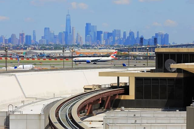 Newark Liberty International Airport.