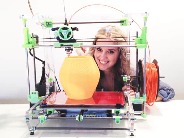 Digital Arts Express will give a 3-D printing demonstration to students in grades 3 through 5 in the Larchmont Public Library's parking lot on Thursday, Feb. 18, at 1 p.m.