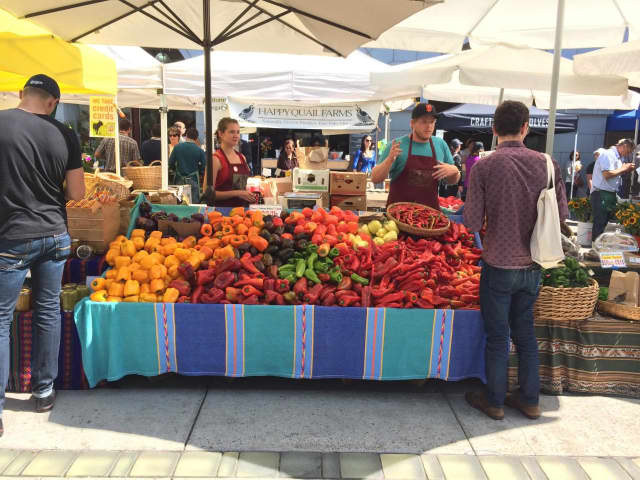The Fort Lee Farmers' Market.