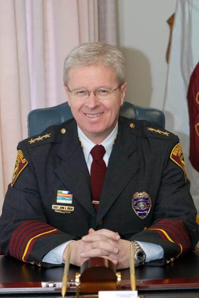 Ridgefield Police Chief John Roche