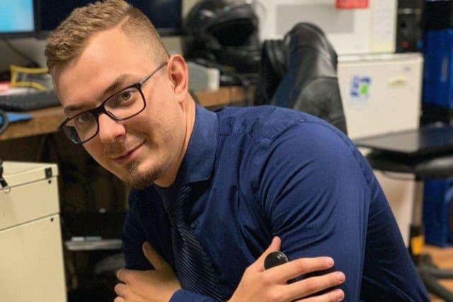 Robert Grabias, 24, is an aspiring firefighter from Little Ferry.