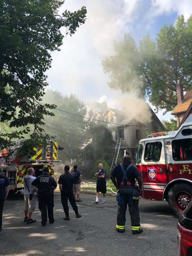 The Griggs Avenue fire was under investigation as of 6 p.m. Monday.