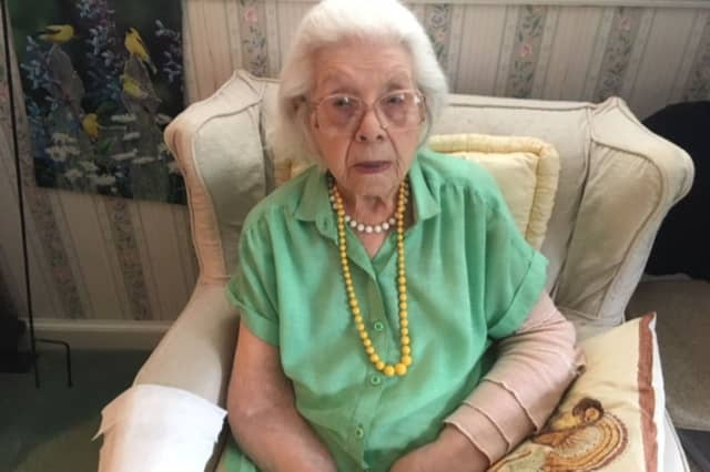 A 106-year-old woman was facing the prospect of eviction from her Cranford home.