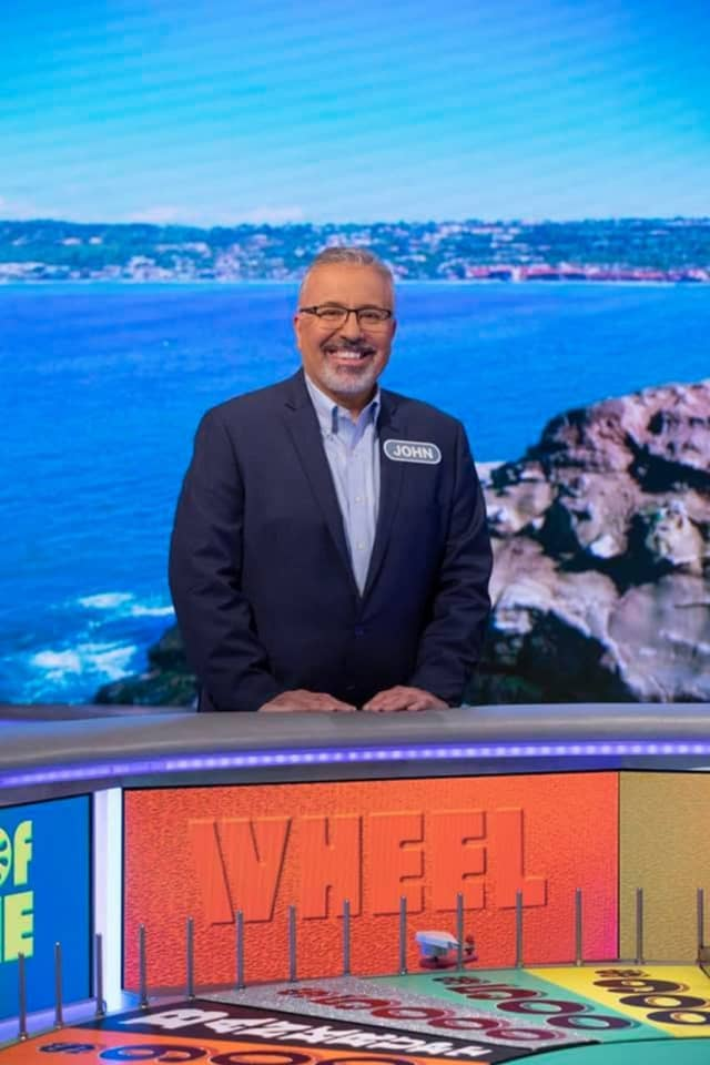John Branwell of Hawthorne will be on an episode of Wheel of Fortune next week.