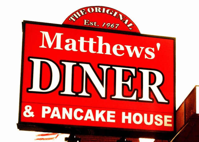 Donate to Roy W. Brown Middle School by dining Friday at Matthews' Diner.