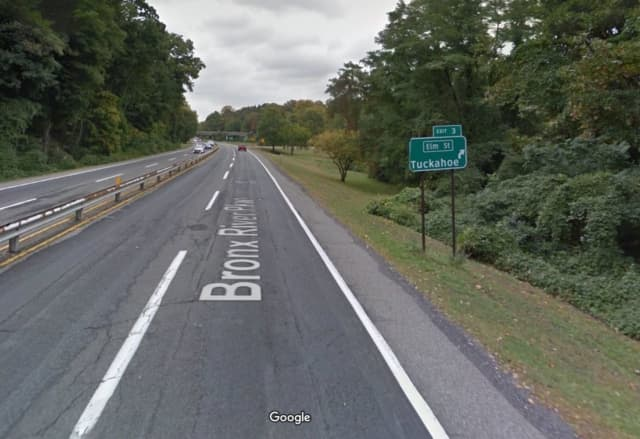 The Elm Street exit for the Bronx River Parkway will be closed in Tuckahoe for several months.
