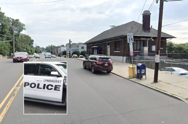 The driver told police he was coming over the hump in the road outside the train station in Lyndhurst when his Jeep hit the Kearny woman.