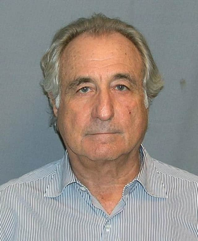 Bernie Madoff is serving a 150-year prison term and forfeited $17.179 billion for running a huge Ponzi scheme. A hedge fund exec who lost billions in the scheme committed suicide Monday in New York.