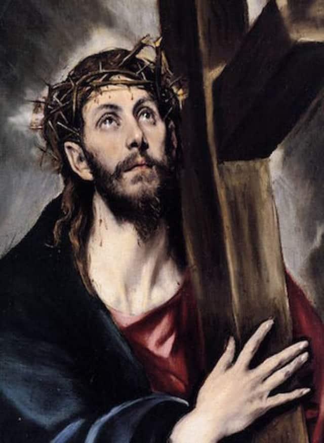 El Greco's Jesus Carrying the Cross, 1580