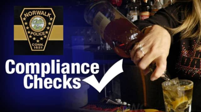 Norwalk police recently conducted an alcohol compliance check.