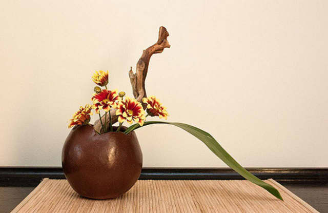 """Ikebana"" is the Japanese art of flower arrangement."