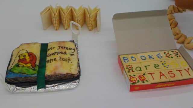 Rutherford Library is having an edible book festival.
