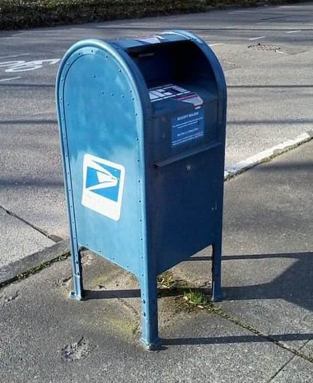 Stealing mail is a federal offense.