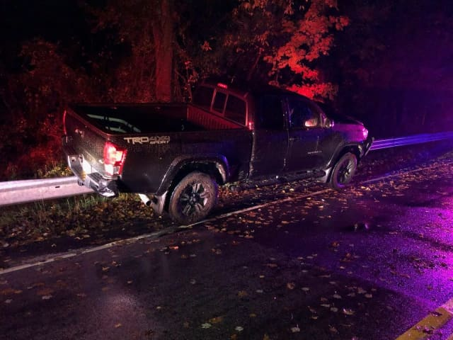 An allegedly drunk driver crashed in Rockland County.