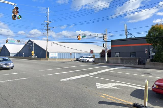 The Jersey City victim was in the crosswalk on River Road when the SUV driven by a Rockland woman hit her, Edgewater police said.