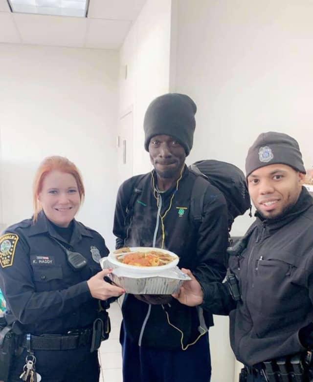 Norwalk Police Department on Thanksgiving