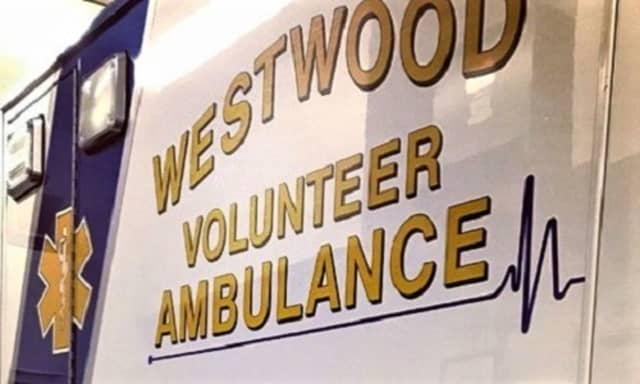 The 80-year-old Westwood victim was taken to HUMC North.