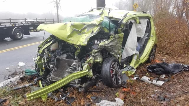 An Ossining woman was killed during a head-on crash on Route 9.
