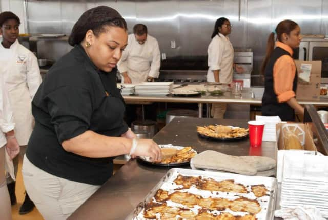 Eastside High School in Paterson will host a holiday dinner for the needy Wednesday night.