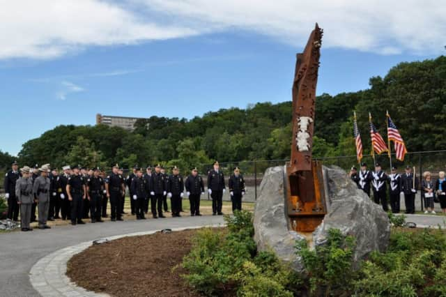 The Town of Cortlandt is hosting a ceremony, dedicating its Sept. 11 Memorial.
