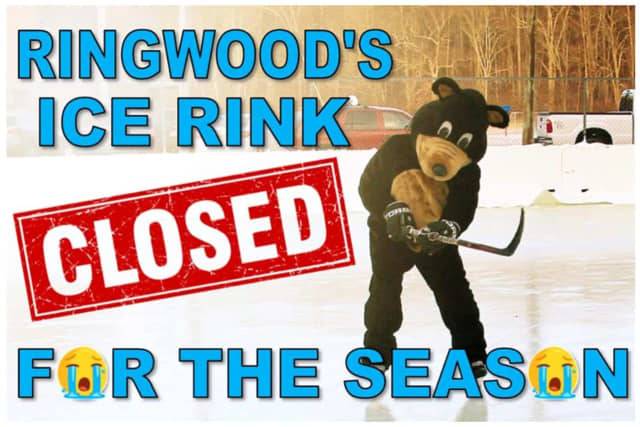 The Ringwood Ice Rink is closed for the season.