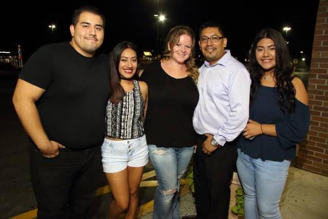 Lef to right: Chris Figueroa, Daniela Santiago, Robyn Santiago, Daniel Santiago and Selena Santiago.