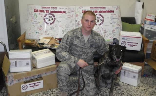 Support Our 4 Legged Soldiers ships relief and supplies to military working dogs and their handlers.