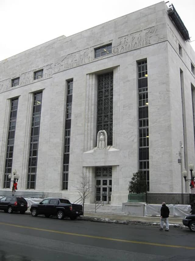 A Hyde Park appeared in federal court in Albany after being charged with mailing letters filled with white powder to federal offices.