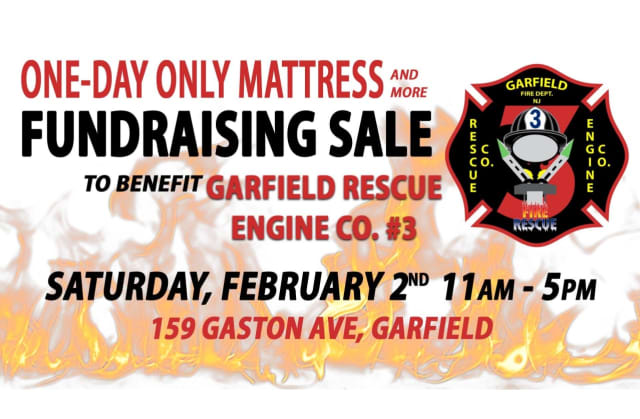 """The Feb. 2 event is an """"easy, affordable and enjoyable way to purchase a mattress while supporting your local fire company,"""" the department said."""
