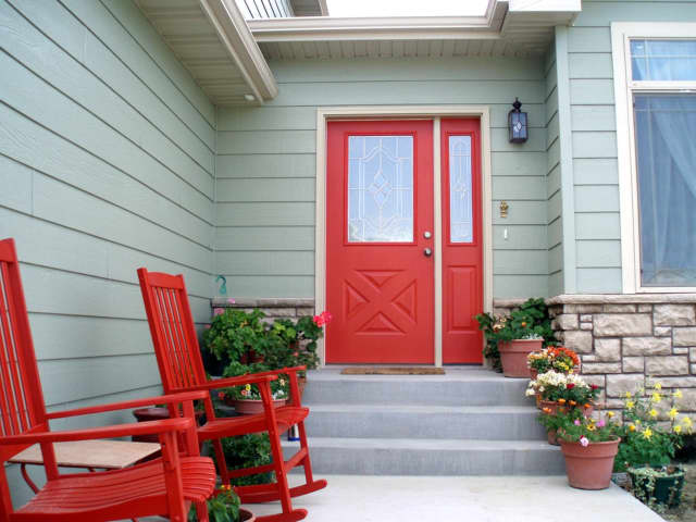 Looking to sell your home this spring? Taking simple steps like painting the front door can do wonders for a house's curb appeal.
