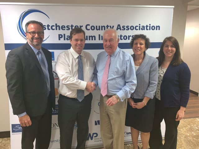 The Westchester County Association and the Hudson Valley Economic Development Corp. announced a merger.