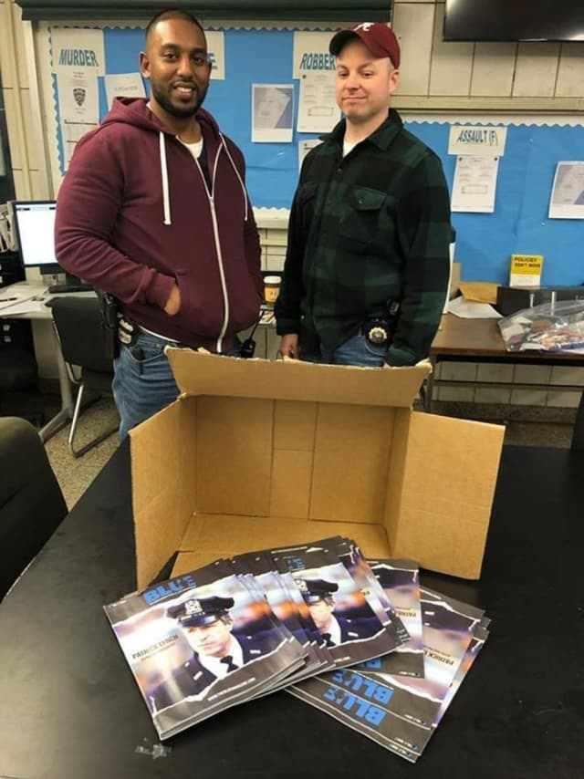 Lt. Tony Lavino (right), who coordinates the 20th Precinct's special operations, set a trap with the help of Officer Nicholas Ramsammy of the plainclothes Anti-Crime Team.