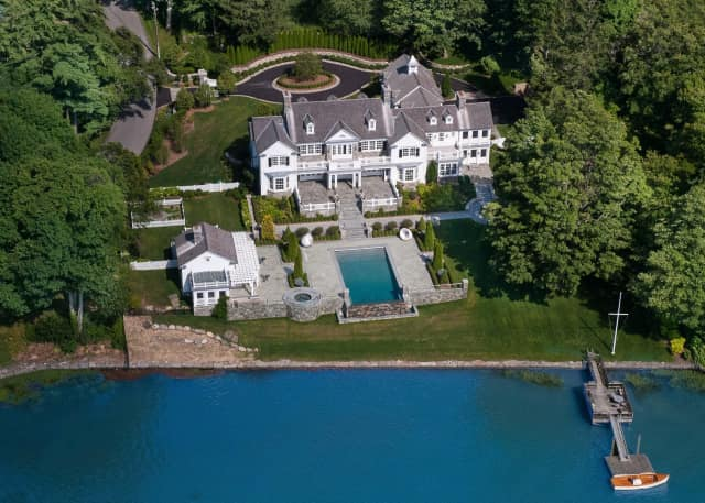 A Greenwich property that sold for $14.5 million.