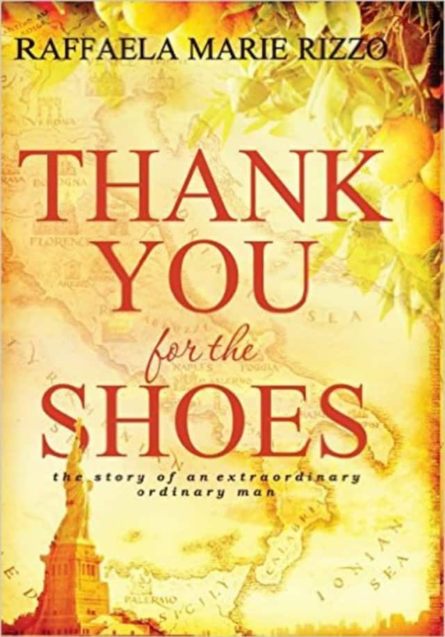 "Raffaela Marie Rizzo's book ""Thank You for the Shoes."""