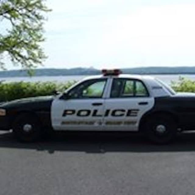 South Nyack-Grand View Police arrested a man for defacing a stop sign.