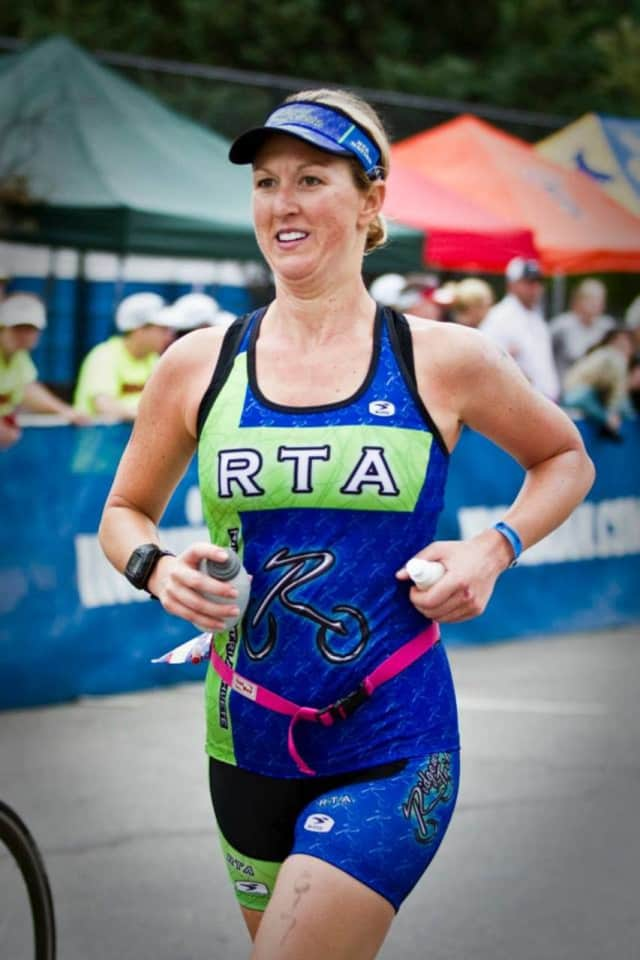 Triathlete Elizabeth Kaplanis will be the featured speaker at an event for runners hosted by the Ridgewood Public Library March 17.