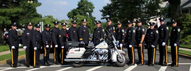 The Carstadt Police are putting down the razors to join the fight against cancer.