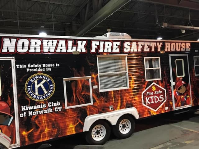 The new, upgraded Norwalk Fire Department Safety House.