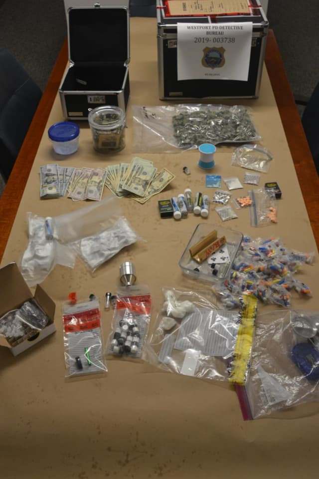 Westport Police busted a local man operating a drug factory.
