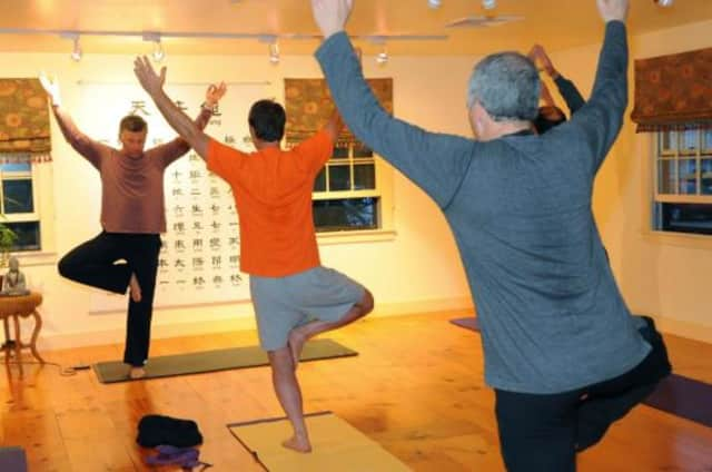 Men's yoga sessions will be held at Old Tappan Public Library.