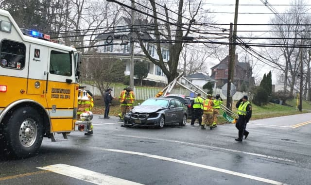 Tappan Road and Broadway in Norwood.