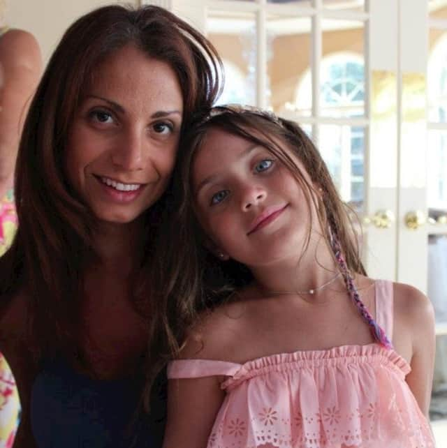 Ginger Pierro of Hawthorne and her daughter.